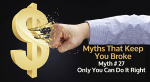 Myths that keep you broke 27