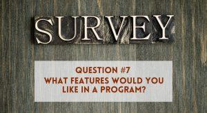 Survey Question 7