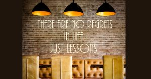 Lessons I have learned