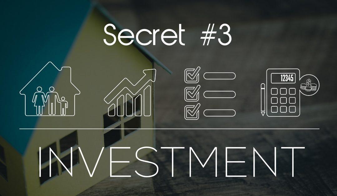 Secret #3: The 3 Secrets of The Wealthy