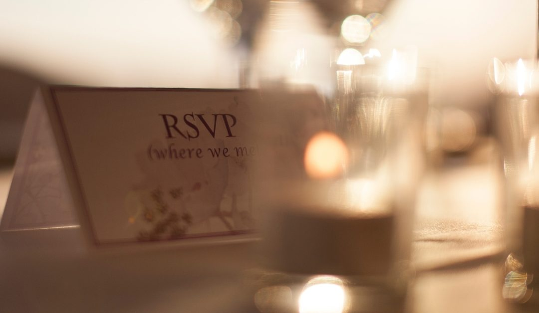 The RSVP Thing…